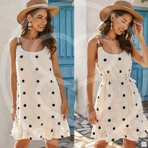 Dresses & Skirts - ISLE Polka Dot Floral Mini Dress